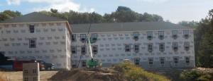 Jobsite under construction
