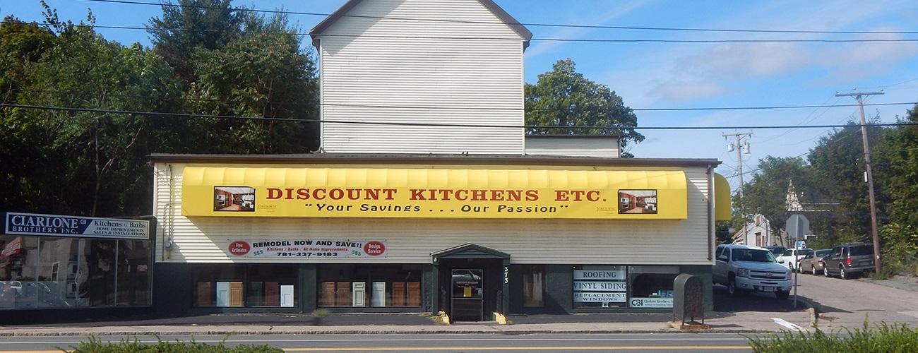 Discount Kitchens Etc. Storefront