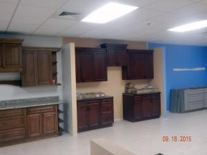 Display sample kitchen