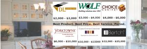 DKE Brands & Full-Kitchen Prices