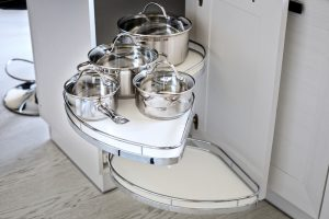 Lazy Susan Style Cabinet