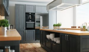 Kitchen Cabinets, Open Style