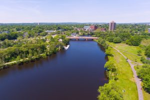 Charles River in Allston, MA