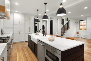 Dark & Light Kitchen Cabinetry