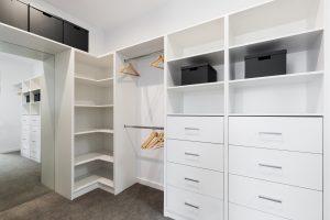 Closet with storage